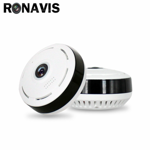 Portable High Quality IP Camera HD V380 Indoor Fisheye 360 Degree WiFi CCTV Home Camera