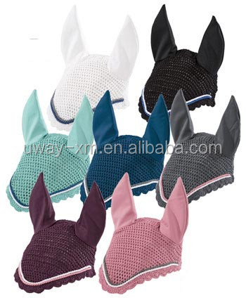 Equestrian horse earmuffs/horse ear bonnet in different color