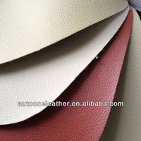 Good abrasion pvc leather used for car seat cover /pvc leather for sofa
