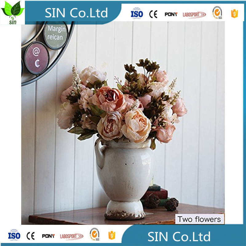 Sai ying individual silk Flowers Bouquet artificial flower decoration flower decoration in stage decoration