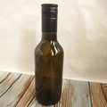 180ml Food grade dark brown wine/fruit bottle/beer glass bottle