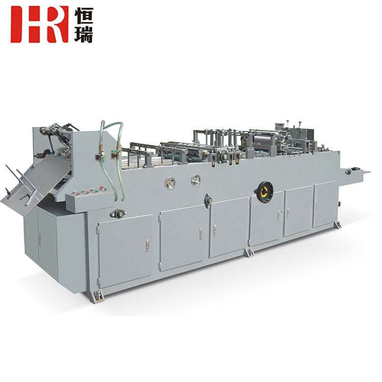 High quality envelope folding and pasting machine, envelope making machine for sale
