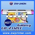 Galaxy eco solvent printer UD181LC with dx5 head, 1.8M 2.1M 2.5M phaeton eco solvent printer