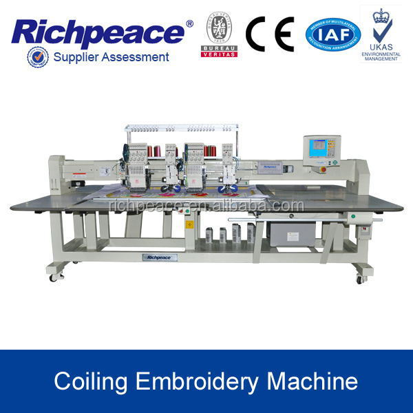 Richpeace mixed coiling embroidery machine