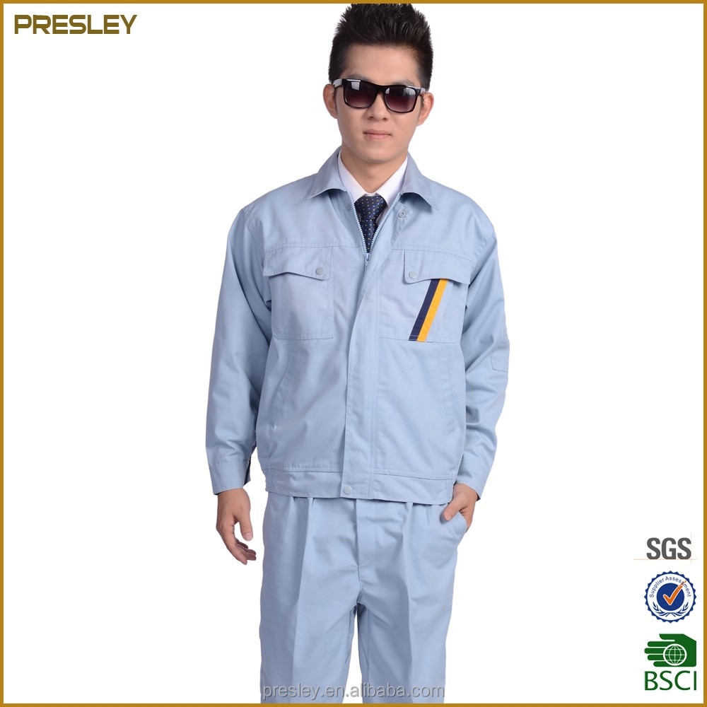 high quality cheap oem working uniform road workwear coverall for man