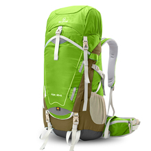 Factory direct sale acrylic box duffle shoulder sport bag hiking back pack travel use best quality