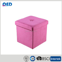 OED Polyester Folding Storage Ottoman Cube 38*38*38 cm F96