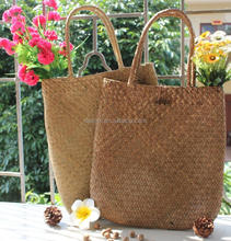 DMlqk347---Wholesale 2017 new fashion women free size straw beach bag