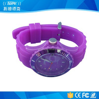 wholesale rfid branded smart fashion silicone watch