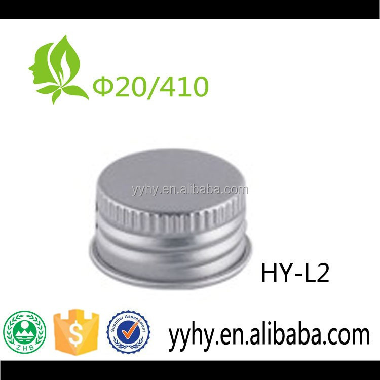 20mm Aluminium Plastic Screw Bottle Round Hat/Cap
