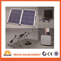 100W solar panel camping portable solar panel installation kit