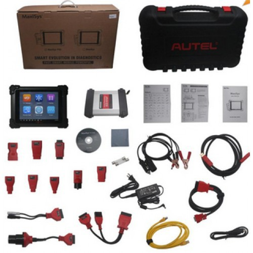 Powerfull Function Pro Autel Maxisys MS908P Update Online With Full Adaptors On Promotion
