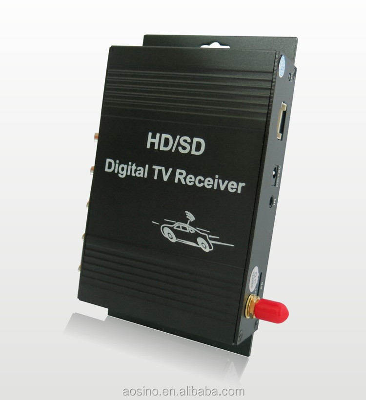 high speed mobile digital tv tuner terrestrial receiver box car isdb-t brazil for digital freeview
