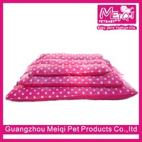 Wholesale Washable Soft Pink Dog Bed Pet Mat for Dog and Cat