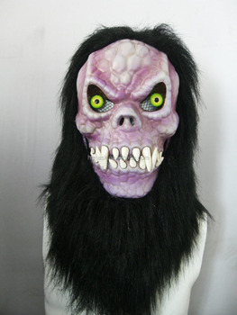Moving Mouth Person Mask for Holloween Party - Monster007