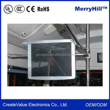 WIFI Android Bus Advertising Player 19/ 17/ 15/ 12/ 10/ 9 inch LCD Touch Screen Monitor 24V