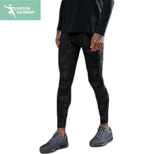 mens gym workout running tight camo sports pants joggers sweatpants wholesale