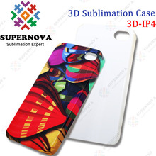 DIY 3D sublimation phone case for Iphone 4/4s