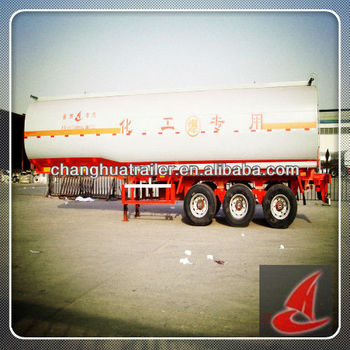 Natural gas Cryogenic Liquid Tanker Trailer of valve WABCO