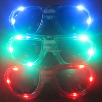wholesale fancy led sunglasses with flashligh