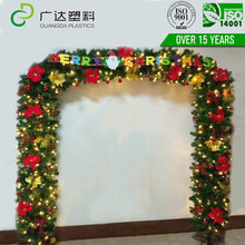 Design Originality Rattan Flowering Arch Wedding party Decoration christmas arch garland