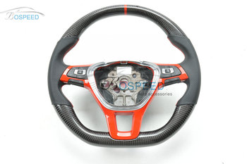 2017 most popularCarbon Fiber racing car steering wheel for VW golf 7