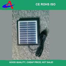 1W small poly solar panel 5V plastic frame with wire