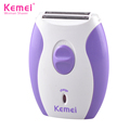 Kemei KM280R New Electric Rechargeable Hair Removal Machine Lady Shaver Epilator with Cheap Price but High Quality