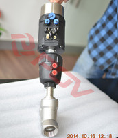 double acting pneumatic stainless steel non return valve
