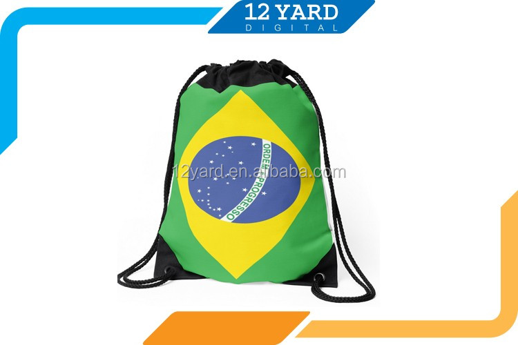 cotton cuatom black mountain top backpack with large capital