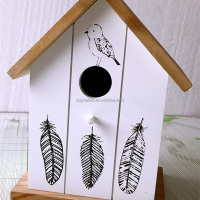 Factory Price Wooden Bird House Wooden