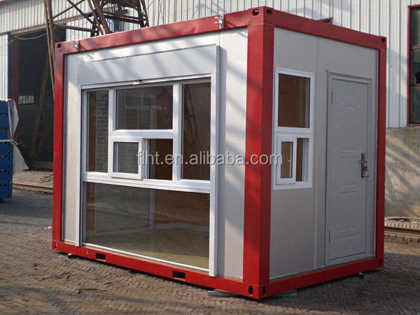 20 FEET FLAT PACK CONTAINER FOR COFFEE SHOP