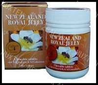 royal jelly_new zealand honey_Royal Jelly tablets - 120 x 1000 mg