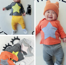 YE5263 Baby newborn tops spring autumn cotton children baby t-shirt