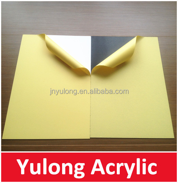 0.5mm 1.5mm Self-adhesive PVC Photo Book Sheets