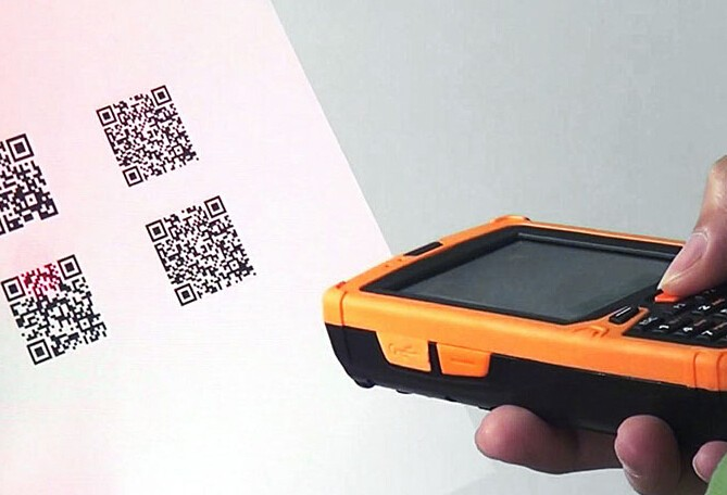 IP65 Rugged Industrial Android PDA with 2D Barcode Scanner/UHF/NFC/3G/WiFi/Bluetooth/RS232