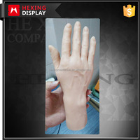 custom realistic artificial silicone hand model
