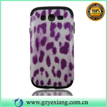Leopard Hard PC Silicon Case For Samsung Galaxy Grand Duos I9082 Back Cover
