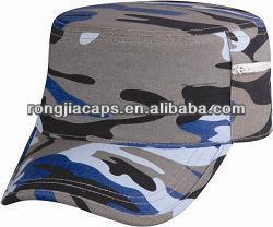 Camo hats/100% Cotton Camouflage Army/Military Cap Style