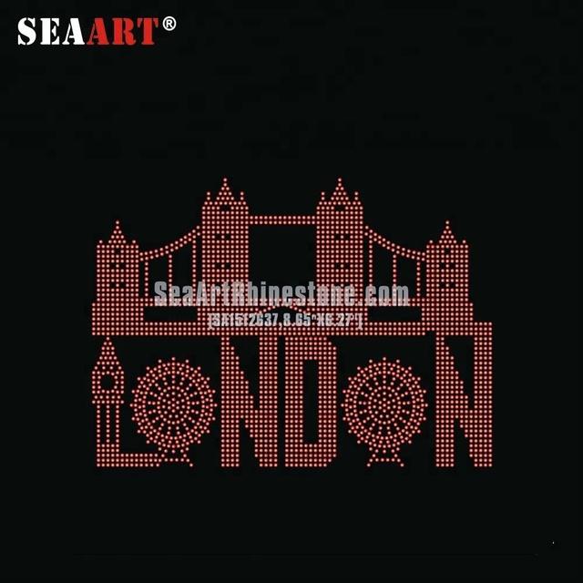 London Tower Competitive Price Promotional Price Korea Rhinestones Transfer