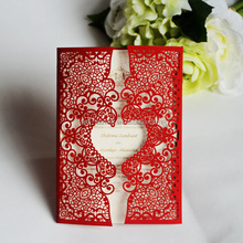 Gifts & Crafts wedding favor gifts wedding invitation fairy pop up 3d handmade invitation card