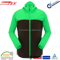 adult foldable waterproof rain jacket raincoat with hood
