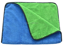 Microfiber Car Wash Cloths 400gsm Two Different Sides for Cleaning