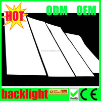 High brightness custom el panel/Led light sheet with multi color
