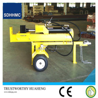 Automatic Double Valve Control 42Ton Diesel Motor Wood Log Splitter ,CE Certified
