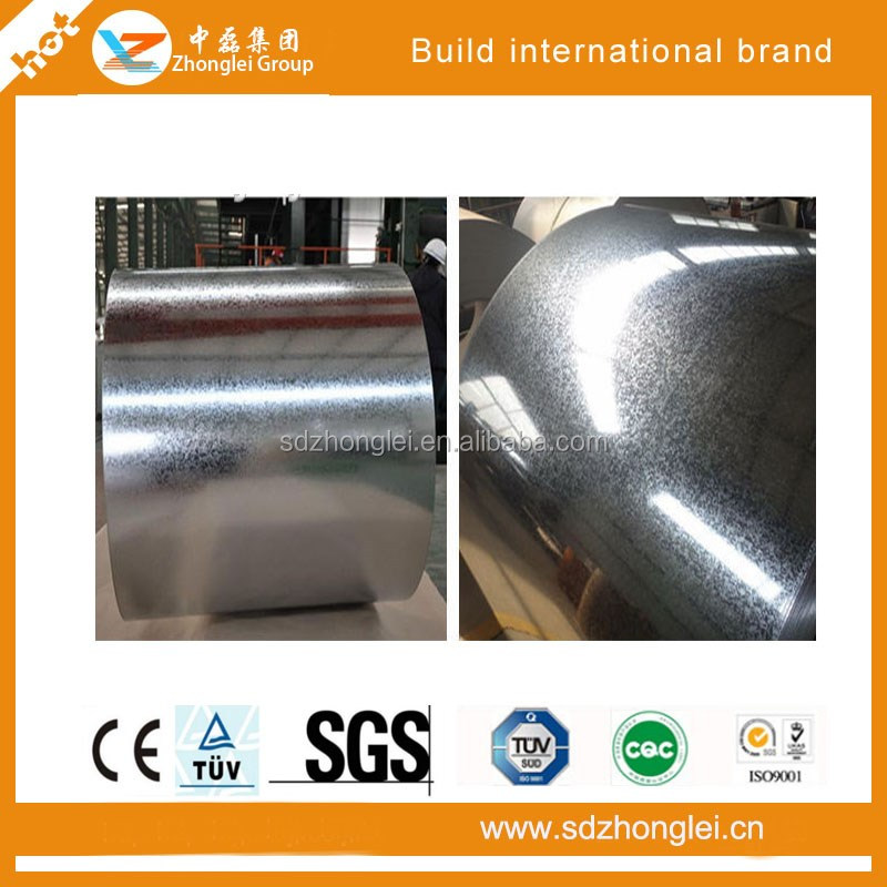 Small Spangles GI Galvanized Steel Coils with higher quality