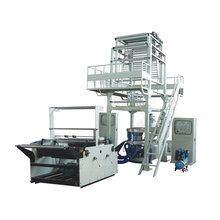 Fully-Auto Double 2 Rewinder Ldpe Multi Layer Co-Extrusion Stretch Making Film Blowing Machine