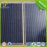 sensor integrated timeproof solar panel battery charger 3.7v