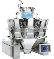 High Accuracy Multihead Combination Weigher with Flat Bucket