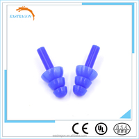 Safety Silicone Rubber Earplug with Cord